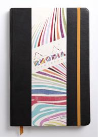 Rhodiarama A5 Webnotebook Lined (Black)