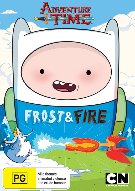 Adventure Time: Collection 9 - Frost & Fire on DVD