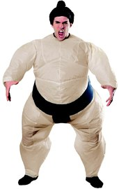 Adult Inflatable Sumo Costume (Size Standard)