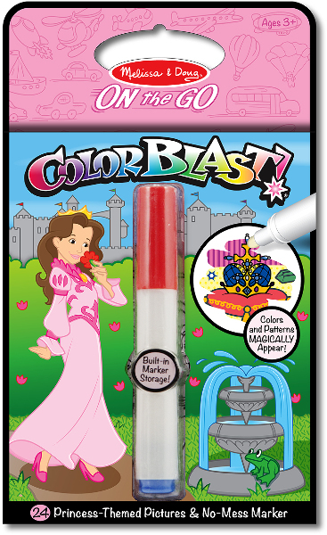 Melissa & Doug: Colour Blast! Princess