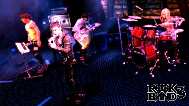 Rock Band 3 (Game Only) for Wii image