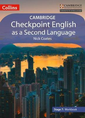 Lower Secondary English as a Second Language Workbook: Stage 7 by Nick Coates image