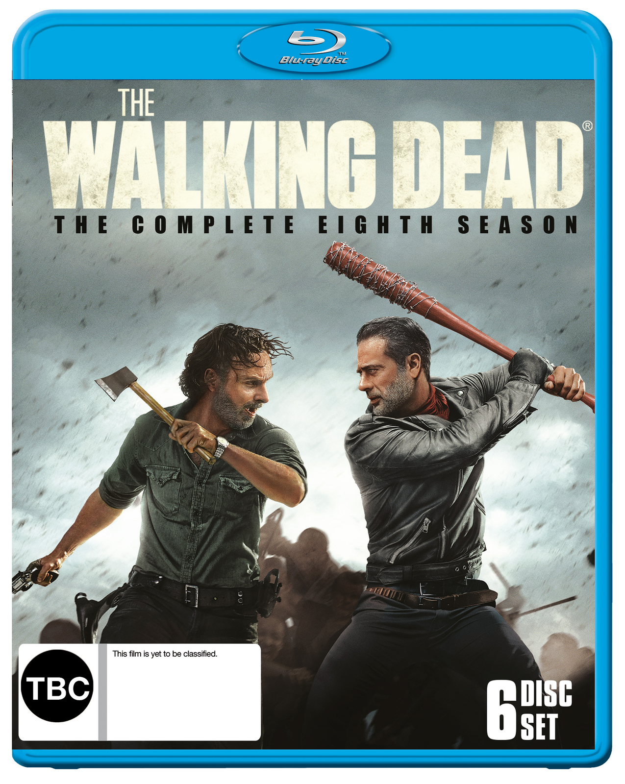 The Walking Dead: Season 8 on Blu-ray image