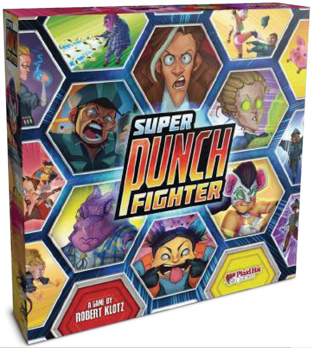 Super Punch Fighter - Board Game