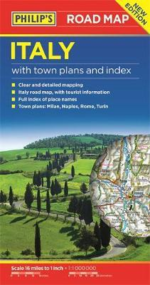 Philip's Italy Road Map by Philip's Maps