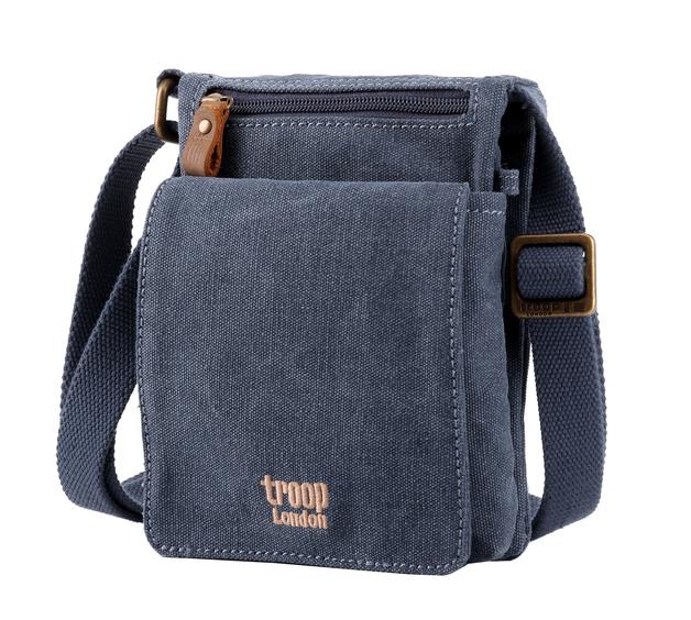 Troop London: Classic Mini Body Bag - Blue