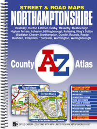 Northamptonshire County Atlas by Geographers A-Z Map Company