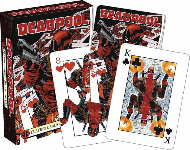 Marvel – Deadpool Mirror Playing Cards