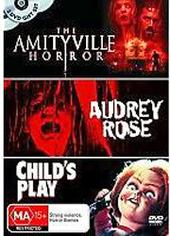 Amityville Horror, The / Audrey Rose / Child's Play (3 Disc Set) on DVD