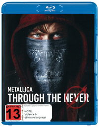 Metallica: Through The Never on Blu-ray