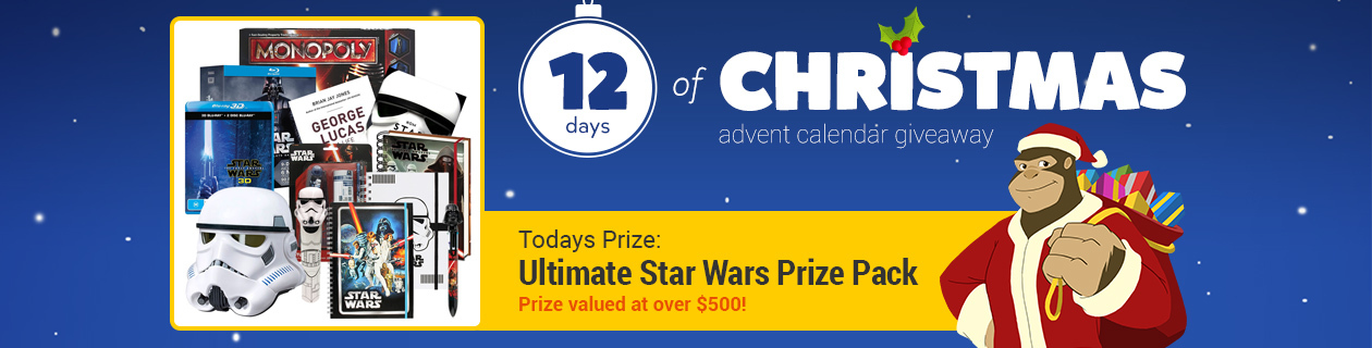 12 Days: Ultimate Star Wars Prize Pack