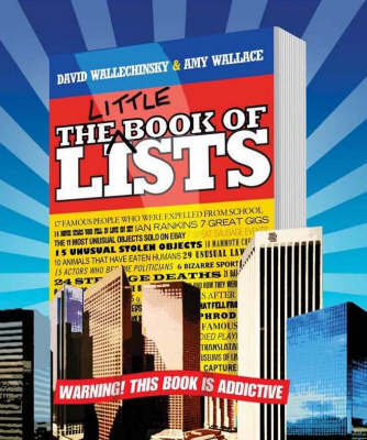 The Little Book Of Lists by David Wallechinsky image