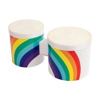 Sunnylife Bongo Drums - Rainbow