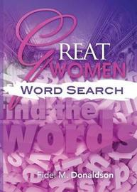 Great Women Word Search by Fidel Donaldson image
