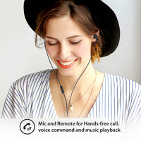 iLuv: Bubblegum 3 - Stereo Earphones with Mic (Black) image