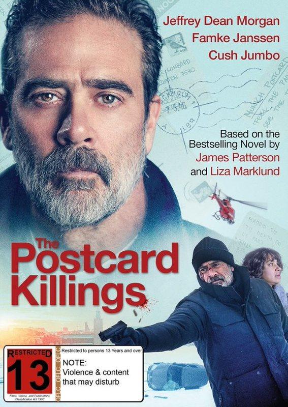 The Postcard Killings on DVD