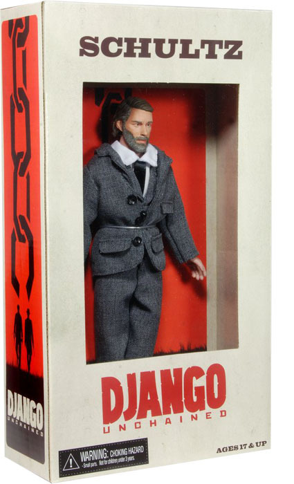 Django Unchained Dr King Schultz Action Figure