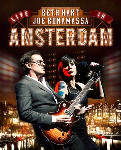 Beth Hart and Joe Bonamassa Live In Amsterdam on Blu-ray