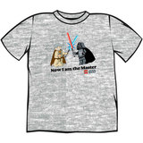 Lego Star Wars: Now I Am The Master - T-Shirt (XL)