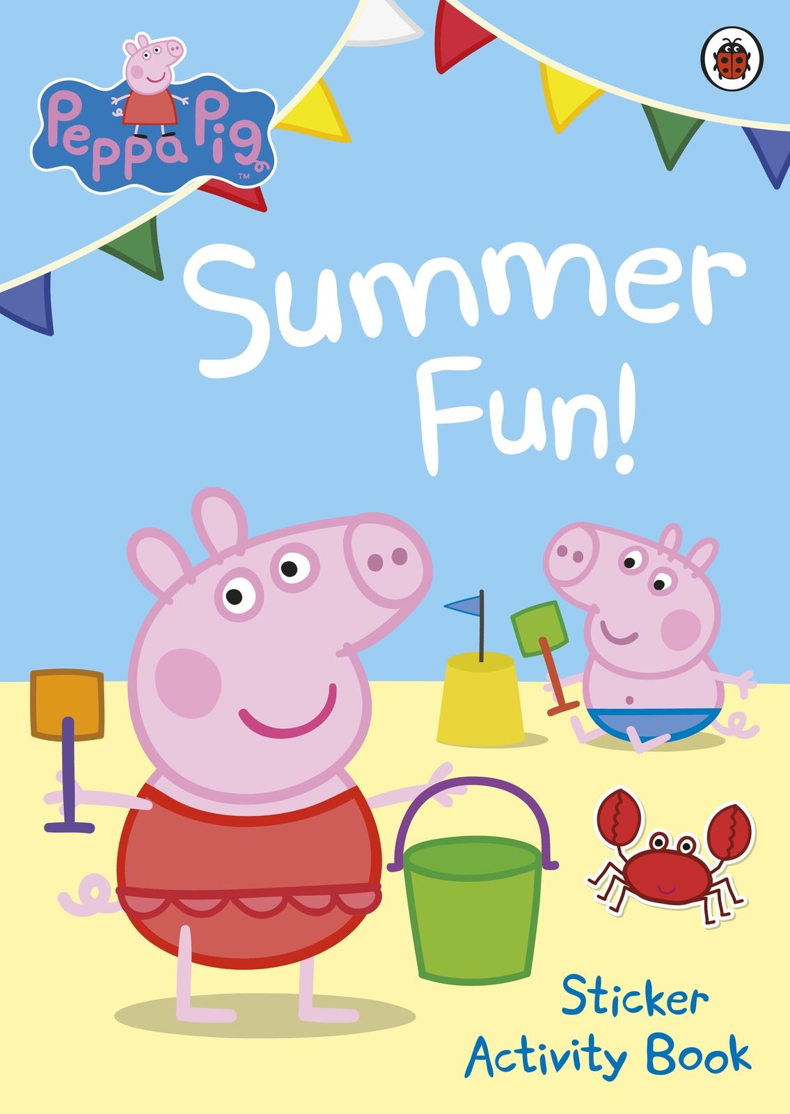 Peppa Pig: Summer Fun! Sticker Activity Book image