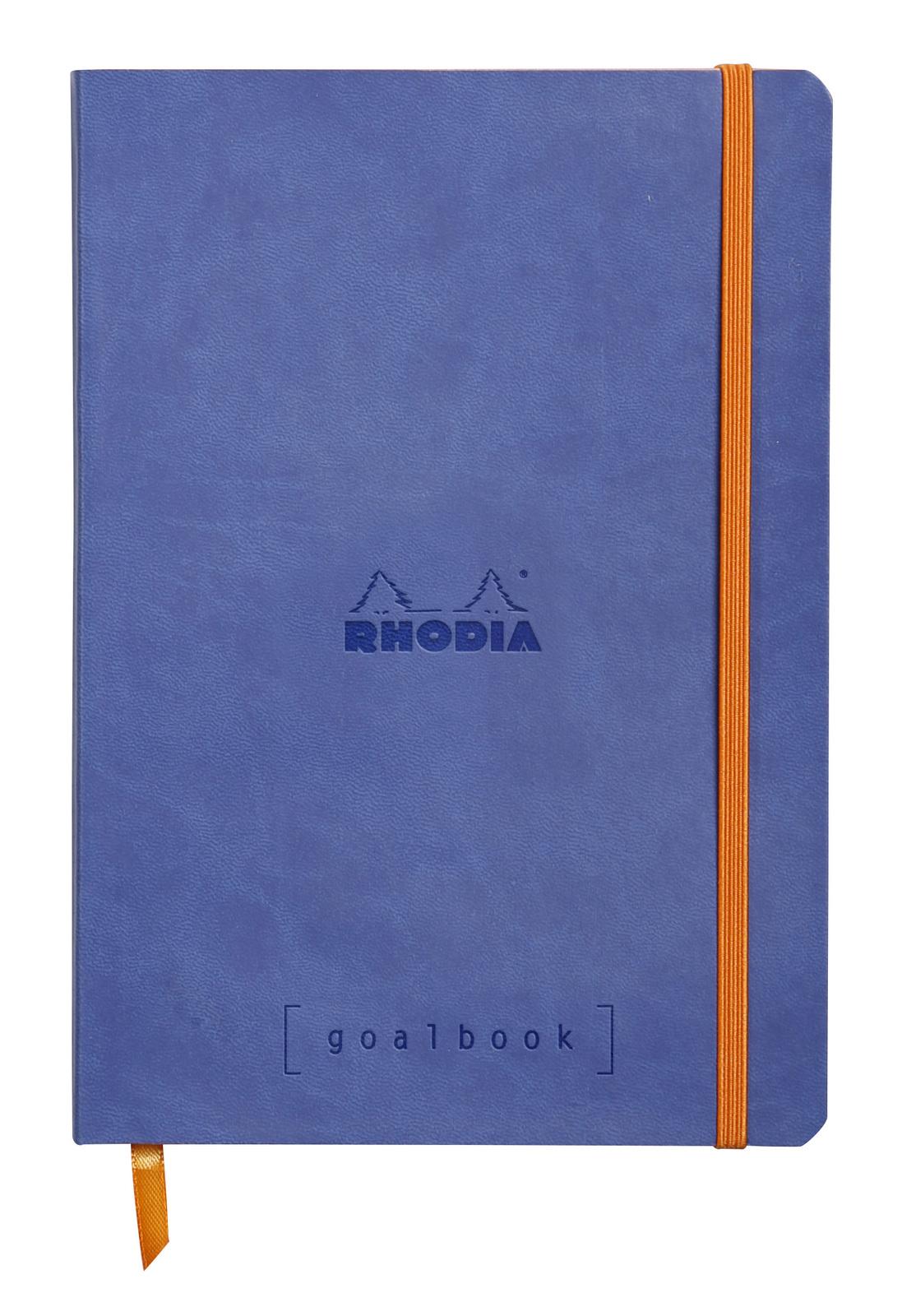 Rhodiarama A5 Goalbook Dot Grid - Sapphire image