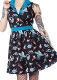 Sourpuss: Space Babes - June Dress (XL)