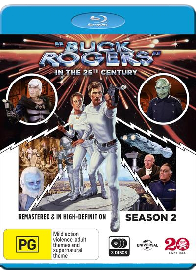 Buck Rogers In The 25th Century - Season Two on Blu-ray image