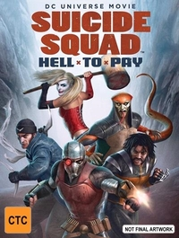 Suicide Squad: Hell to Pay on DVD