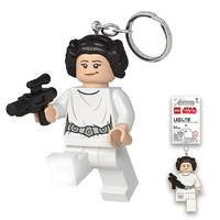 LEGO Princess Leia with Blaster Keylight