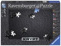 Ravensburger: 736-Piece Challenge Puzzle - Krypt (Black)