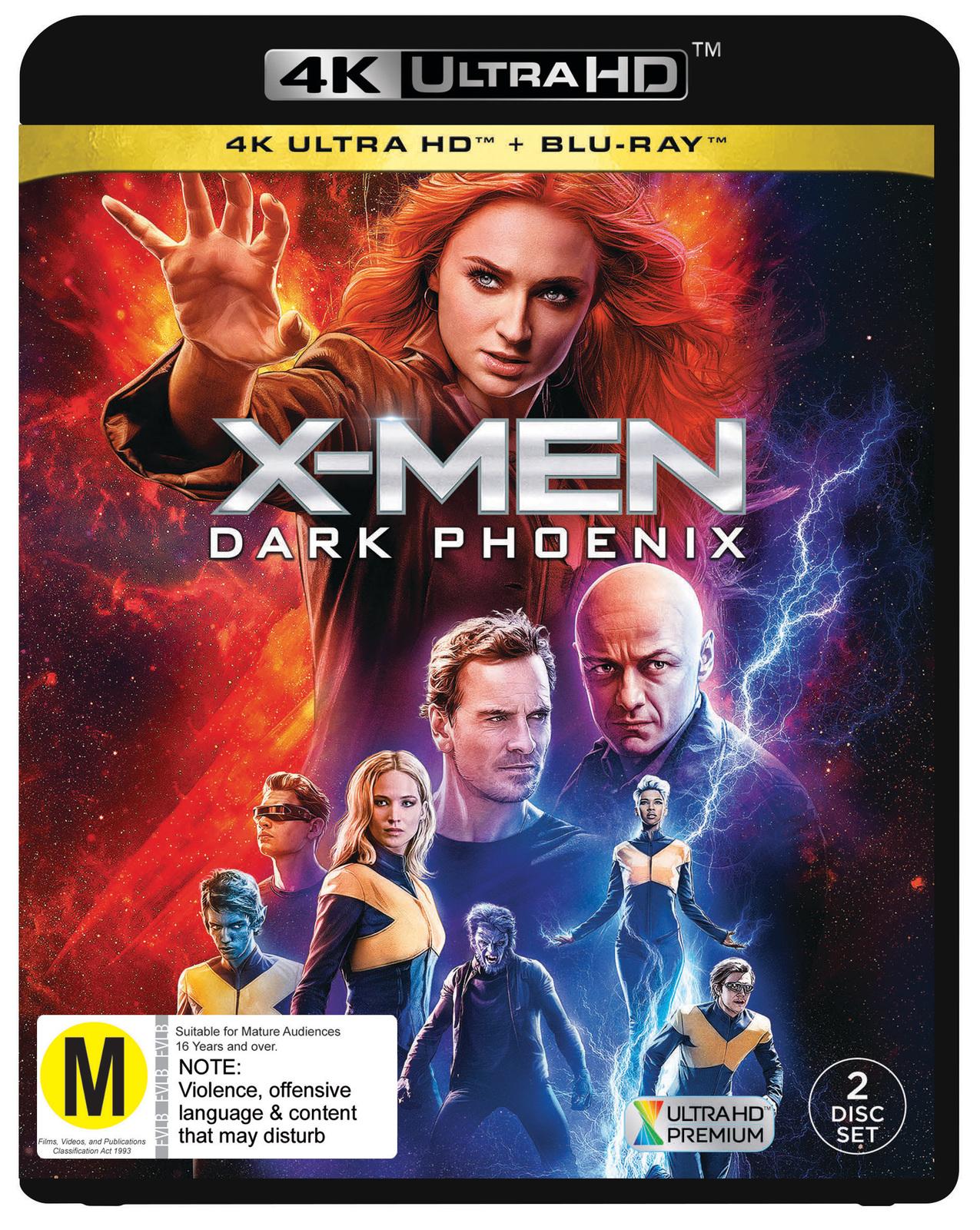 X-Men: Dark Phoenix on UHD Blu-ray image