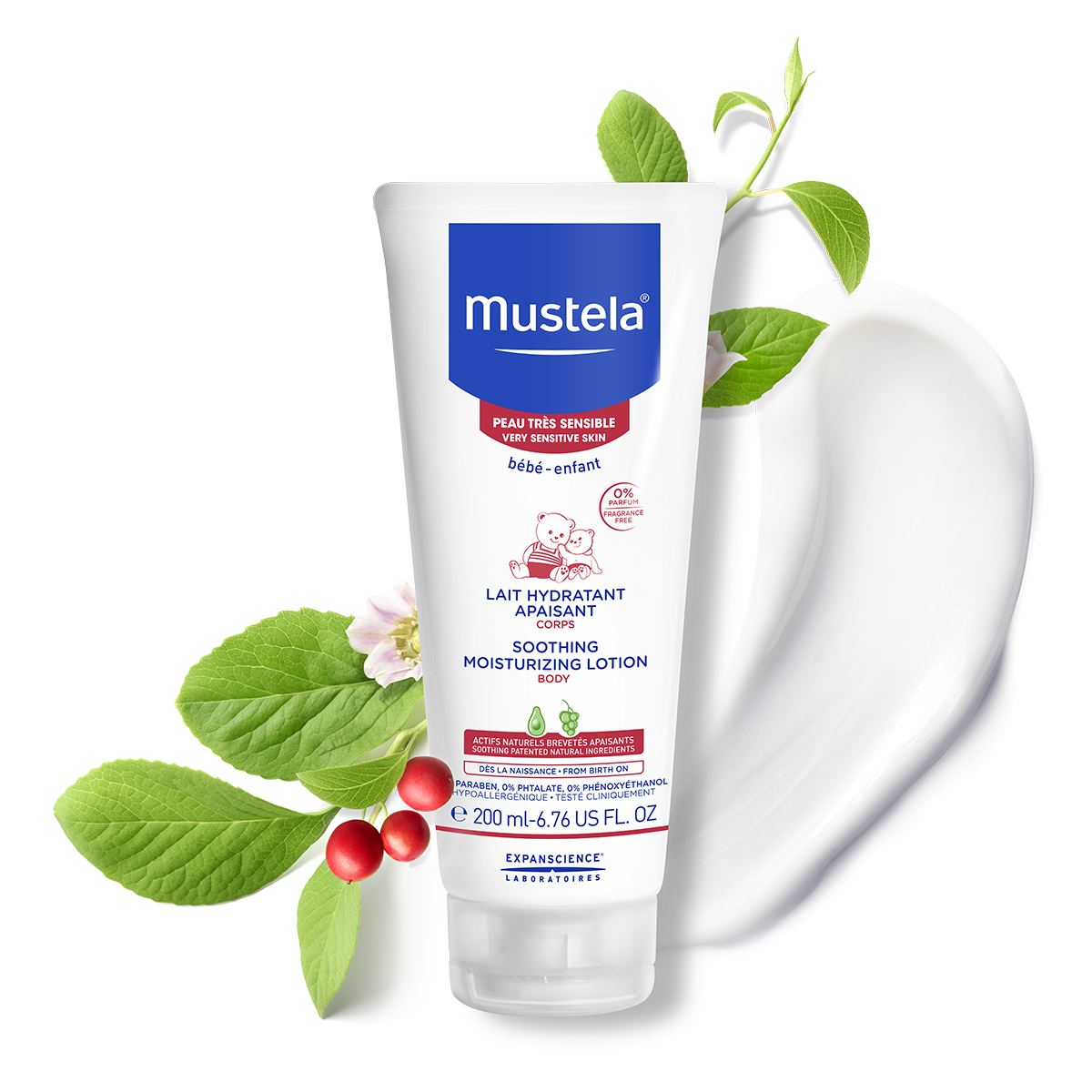 Mustela: Soothing Moisturising Lotion - 200ml image
