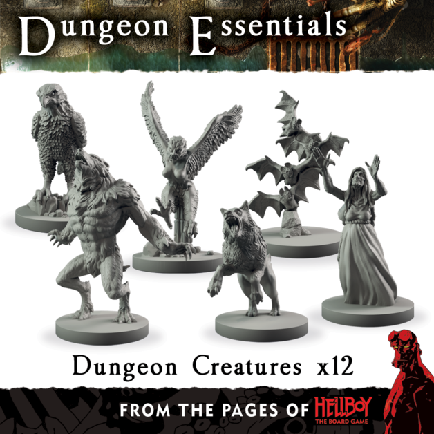 Dungeon Essentials: From The Pages Of Hellboy - Dungeon Creatures