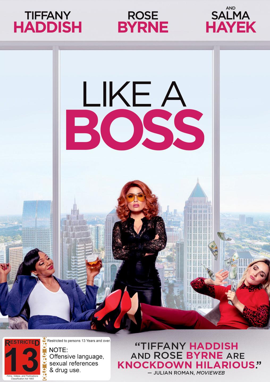 Like A Bo$$ on DVD image