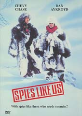 Spies Like Us on DVD