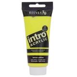 100ml Reeves Intro Acrylic - Lemon Yellow