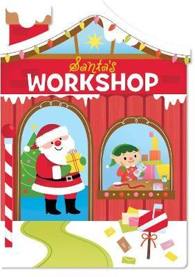 Christmas House Board Book Santa's Workshop image