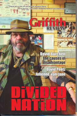 Griffith Review 15: Divided Nation by Julianne Schultz image
