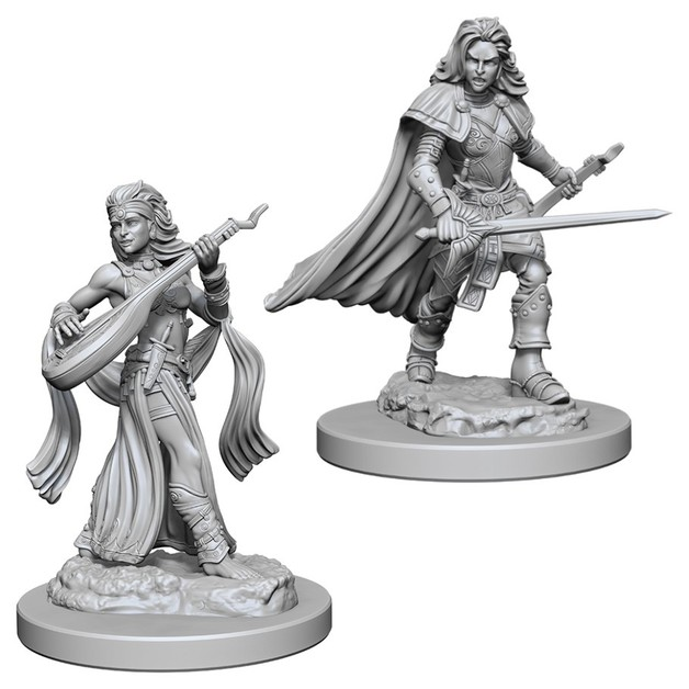 Pathfinder Deep Cuts: Unpainted Miniatures - Human Female Bard