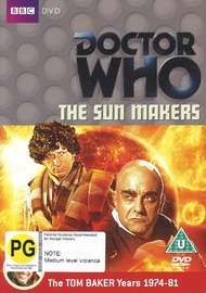 Doctor Who: The Sun Makers on DVD