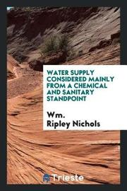 Water Supply by Wm Ripley Nichols image