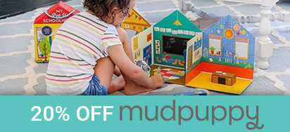 20% off Mudpuppy!
