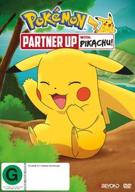 Pokemon: Partner Up With Pikachu! on DVD