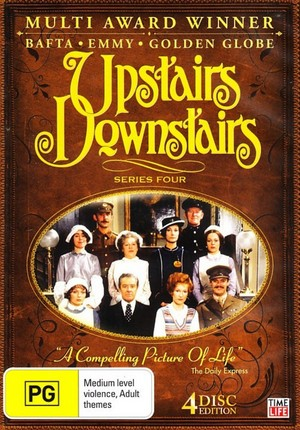 Upstairs Downstairs - Series 4 (4 Disc Set) on DVD image