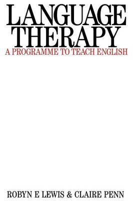 Language Therapy by Robyn Lewis