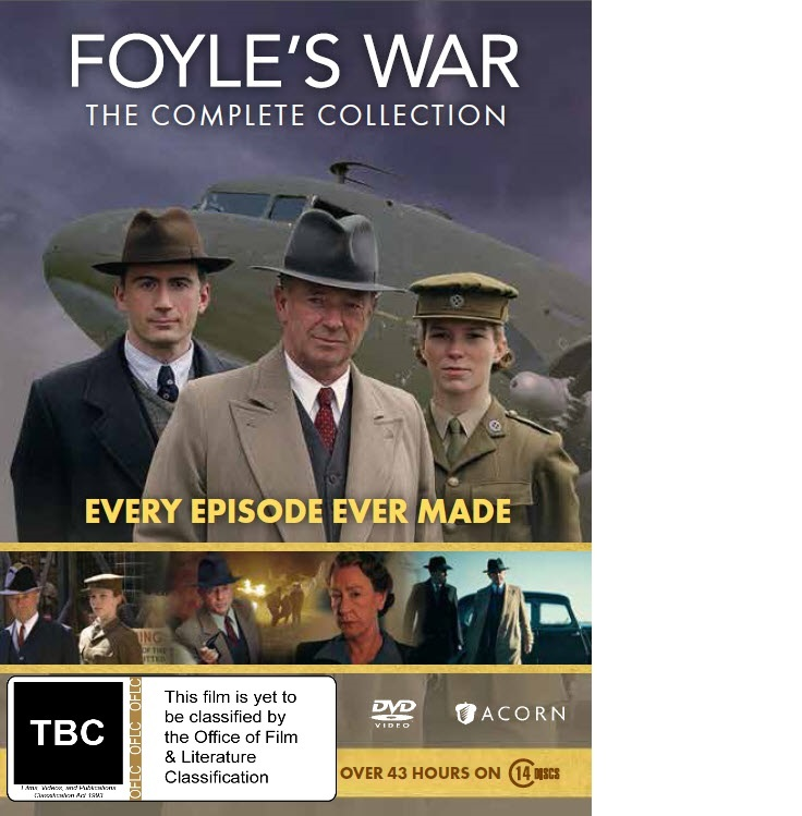 Foyle's War: The Complete Collection (series 1-9) on DVD image