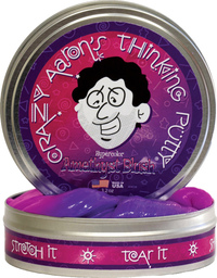 Crazy Aarons Thinking Putty: Amethyst Blush Putty