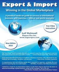 Export & Import - Winning in the Global Marketplace by Leif Holmvall image