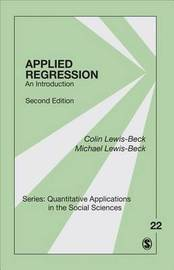 Applied Regression by Colin Lewis-Beck