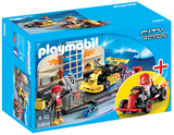 Playmobil: Go kart Garage